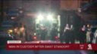 Man in Custody after West End SWAT standoff