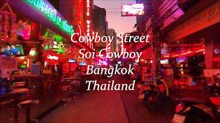 Cowboy Street (Soi Cowboy) in Bangkok, Thailand