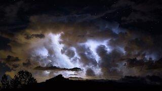 Lightning Over Pikes Peak 2 8-7-2016