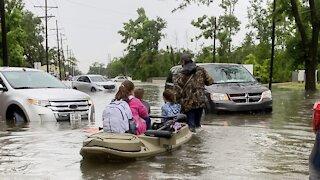 Heavy Rain Hits Southern Louisiana, Causing Major Flooding
