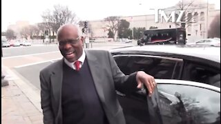 Old Video Of Clarence Thomas Laughing At TMZ Goes Viral