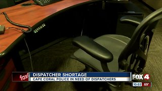 Cape Coral police in need of dispatchers