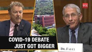 Rand Paul wins; Faucci supports investigation
