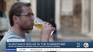 Substance abuse increases during the summer, study found; here's what to look out for