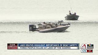 Missouri Highway Patrol urging boat safety
