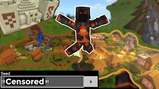 The Greatest Seed In Minecraft History!!! (Everything at spawn)   Completing minecraft series