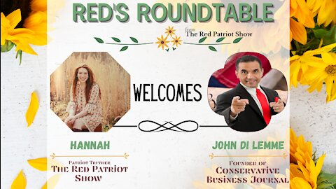 Red's Roundtable: John Di Lemme talks Covid Vaccines, Capitalism v Socialism, & The Deep State Cabal