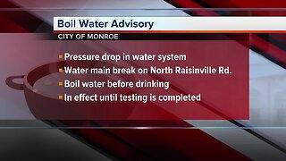 Boil water advisory issued for City of Monroe