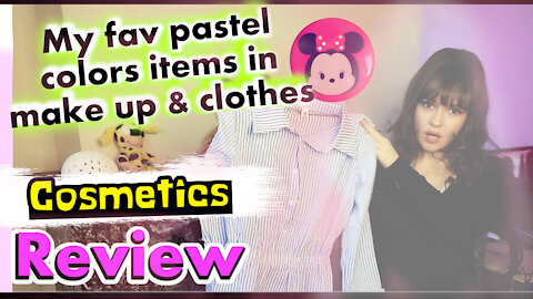 My fav pastel colors items in make up & clothes ft Yesstyle