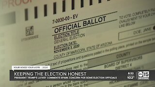 Arizona leaders working to ensure integrity of election