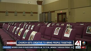Church gets creative to bring people together