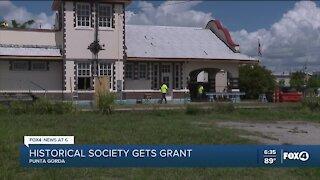 Punta Gorda Historical Society restoring train depot