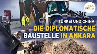 Ankara gräbt Loch vor chinesischer Botschaft – eine einfallsreiche Reaktion auf Chinas Drohungen