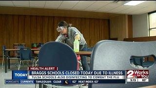 Braggs schools closed Monday due to illness