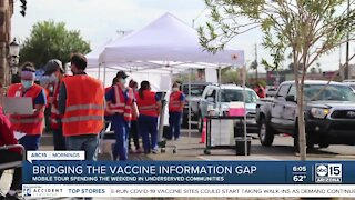 Bridging the vaccination information gap in the underserved communities