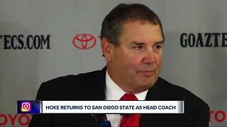Hoke named San Diego State head coach