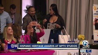 Hispanic Heritage Awards at WPTV 9/19