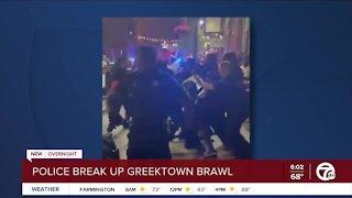 Massive Brawl Breaks Out in Greektown
