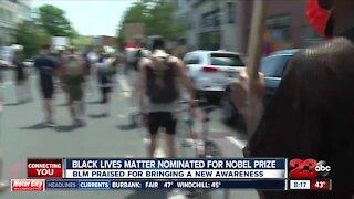 Black lives matter nominated for Nobel prize