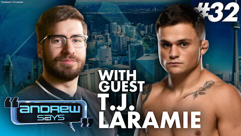 UFC featherweight fighter TJ Laramie on politics in the UFC and being fined on his return to Canada