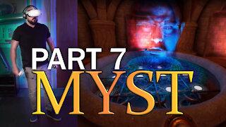 Oculus Quest 2 - Beginner tries Myst VR - Part 7 - (SPOILERS)