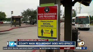 County mask requirement goes into effect