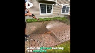 Satisfying Pressure Cleaning