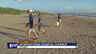 International Coastal Cleanup underway