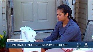 Teen's entrepreneurial spirit helping families amid pandemic