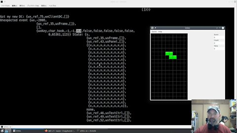 Erlang: Writing a Tetris clone Part 1 - Data types and basic GUI display