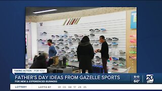 Gift ideas for active dads from Gazelle Sports