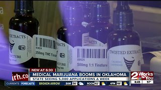 Medical marijuana booms in Oklahoma