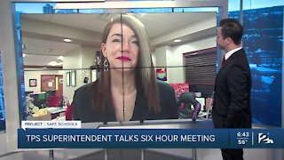 TPS Superintendent talks recommended options for possible return to school