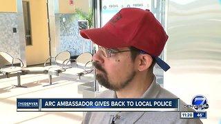 Arc ambassador gives back to local police
