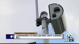 Florida lawmakers to discuss eliminating red-light cameras across the state