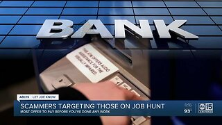 Scammers targeting those on job hunt