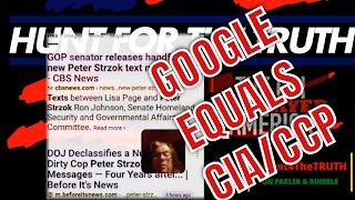 GOOGLE SEARCH HIDING PETER STRZOK TEXT MESSAGES