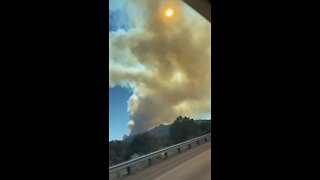 'Flag Fire' prompts evacuations near Kingman