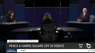 Pence & Harris square off in a debate