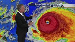 Hurricane Dorian update - 8/31/19 - 6 p.m.