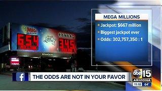 Mega Millions reaches $667 million jackpot!