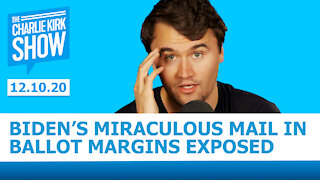 THE CHARLIE KIRK SHOW - Biden's Miraculous Mail In Ballot Margins EXPOSED with Daniel Horowitz