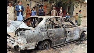 Drone Strike in Kabul Kills 10 Afghani Civilians