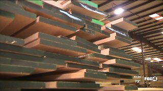 Lumber industry businesses yet to feel effects of declining prices