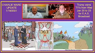 Robert David Steele & Charlie Ward on January 20th (Inauguration Day)