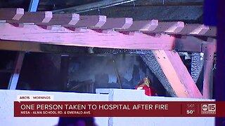 Mesa Apartment Fire