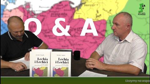 Jarosław Jagiełło: Lechia i Lechici Q&A, pytania do i odpowiedzi od Autora po wcześniejszych filmach