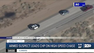 High-speed chase starts in Kern County