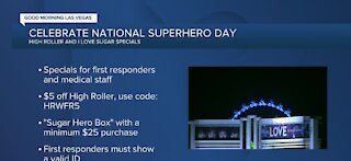 LINQ Promenade offer first responder specials in honor of National Superhero Day