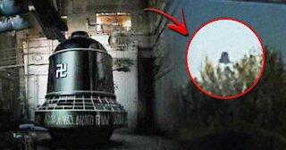 """The Bell"" UFO filmed in the sky of Gothenburg, Sweden"